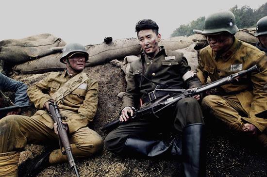 王泷正《我的爱情撞上了战争》剧照