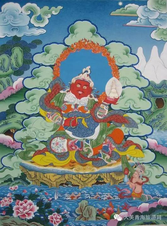 藏族唐卡?·?神秘的手绘