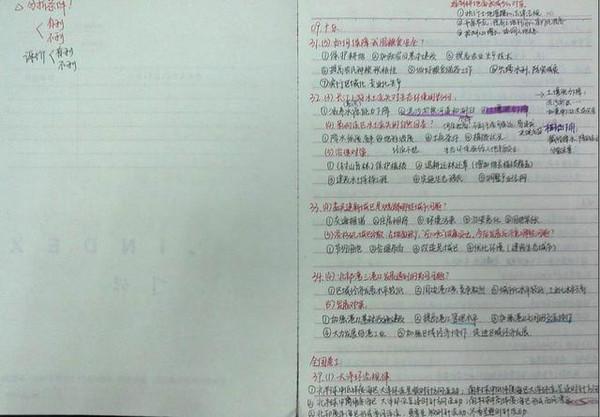 99%的人课堂上不做综艺,赢在初一,只需3步图解日本笔记图片