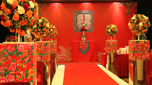 石家庄婚庆公司讲解中式婚礼流程图片