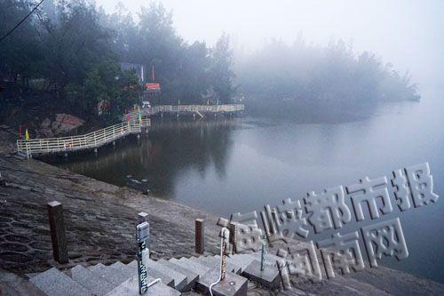 男子尸体在这块水域被发现