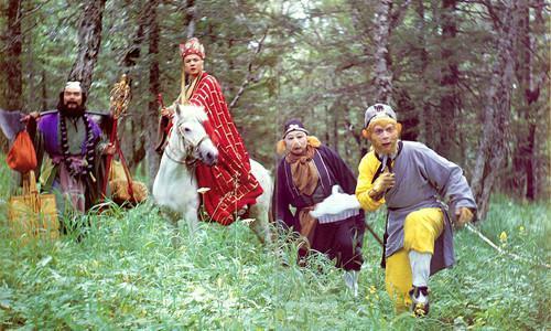 1986年《西游记》剧照. 本文图片均来自网络
