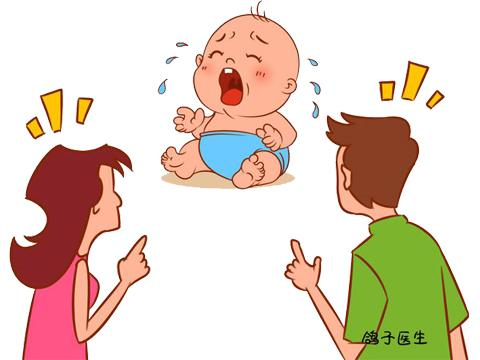母婴儿卡通图