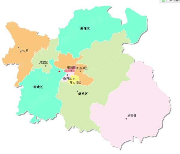 2017的瑞金市新区规划-争取实施新一轮区划调整 南昌县撤县设区敲定