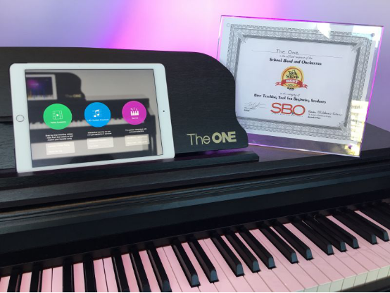 the one智能钢琴荣膺namm show最佳教育产品