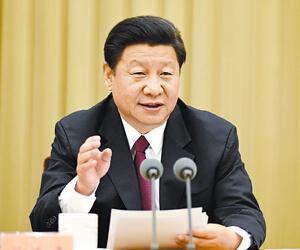 2015年8月24日至25日,习近平在中央第六次西藏工作座谈会上发表重要讲话。来源:新华网