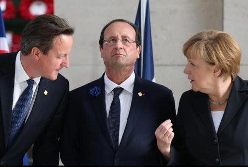 对达赖避而不见一事上,英法德三国领导人达成一致。资料图来源:华夏图片网