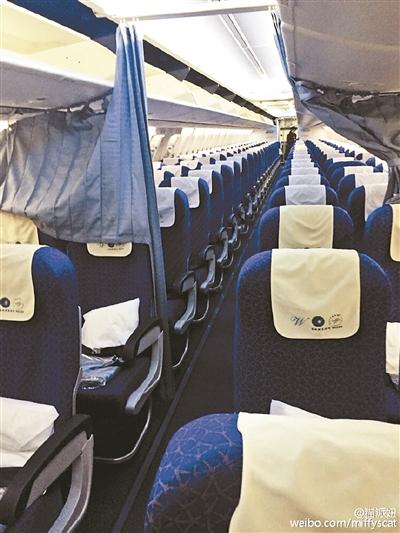 年关将近,很多人回家的票还没有着落,而昨日凌晨,一架从武汉飞往广州的航班上只有一名女乘客,偌大的客机成了一个人的专机。