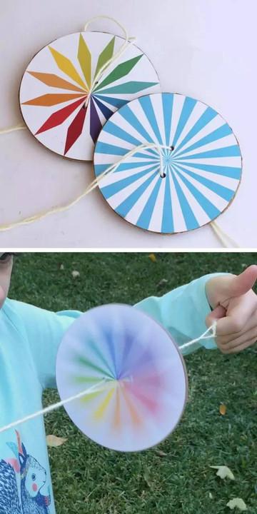 小学生diy手工制作 气球光盘