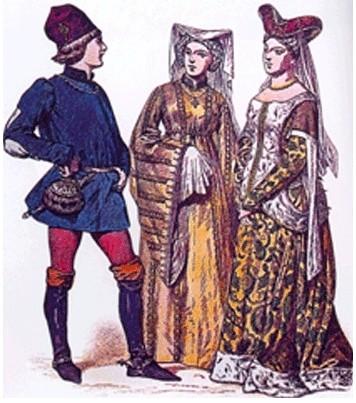 中世纪篇 哥特式时期的艺术和服装 二图片