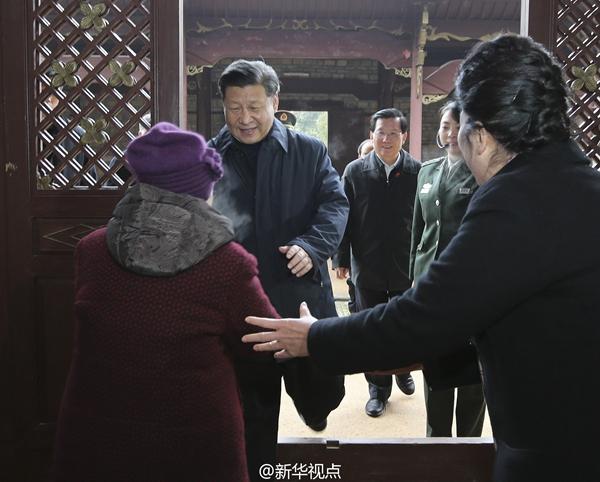 习近平春节前夕赴江西看望干部群众