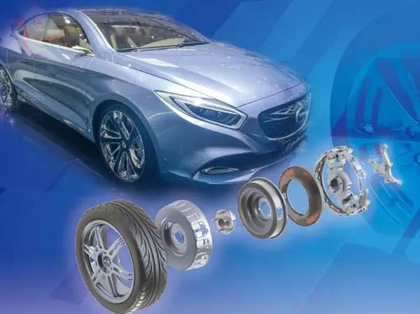 汽车驱动解决方案,与电动机集中动力驱动相比,轮毂电机技术具高清图片