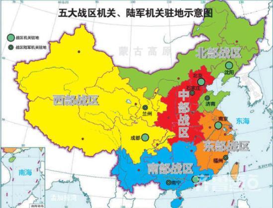 未来50年中国地图