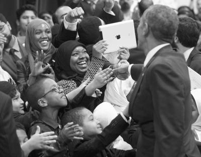奥巴马呼吁宽容对待不同宗教信仰
