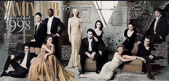 《名利场》2013年好莱坞特刊封面   2016年的好莱坞特刊大片有 jen