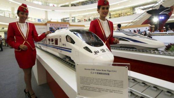雅万高铁刚在1月举行了动土仪式。(图片来源:路透社)