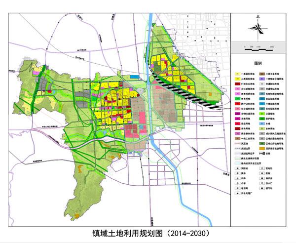 家庄铜冶镇总体规划 将建鹿泉南部区域副中心