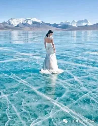 天上圣湖 仙女的眼泪--普莫雍措