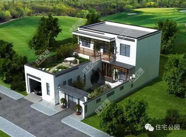 房产 正文  先看一下360°全景展示效果: 这套户型萃取徽派建筑元素