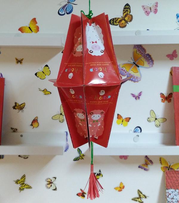 【废物利用手工】留着红包做灯笼