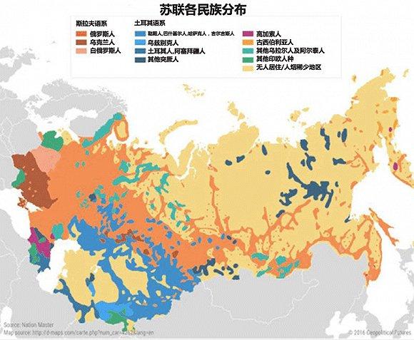 910张地图告诉你俄罗斯的政治军事经济战略
