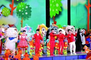 歌舞类儿童节目《幸福成长》。