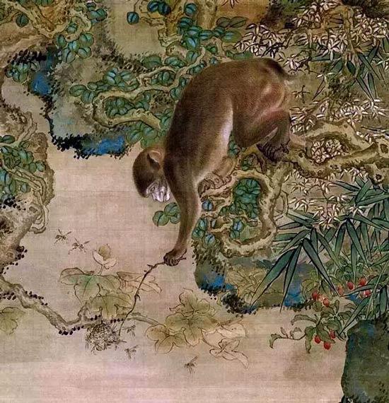 官禄寿:猴子在古代文人笔墨中的吉祥寓意