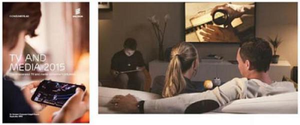 对于中国的被访者,在线VOD成为用户每天的观看习惯,超过60%的被访者每天都观看在线