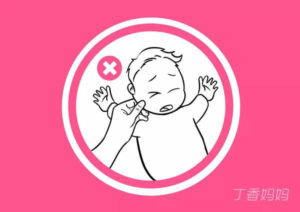 禁止触碰-危险 过年回家,大人千万不能这样逗孩子