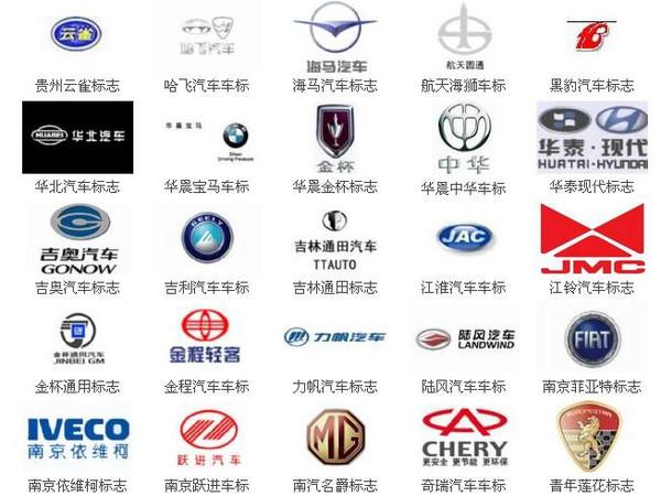 为什么国产车的车标都很丑?