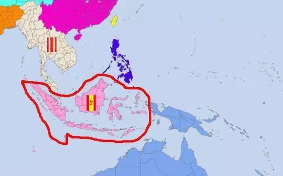 """""""乃怀壮游之志"""",发扬客家精神,漂洋过海,登上婆罗洲(今西加里曼丹岛).图片"""