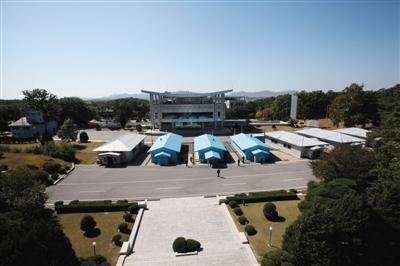 开城产业园区位于韩国首尔东南边向约50千米处的朝鲜开城,间隔朝鲜半岛南北军事分界限不远。 图/CFP