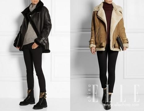 时髦Icons都在亲身力证:时髦、保暖、耐穿耐磨,一件高质量的剪羊毛外套是很理智的投资<b