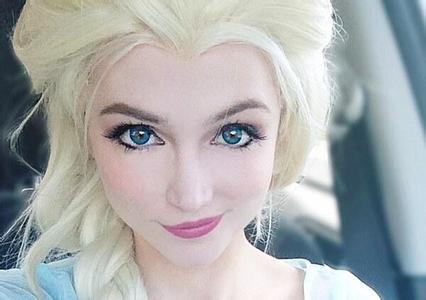 美国女生天生真人版公主脸图片