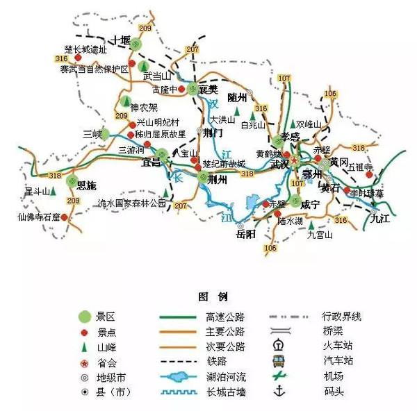 青州古城手绘地图