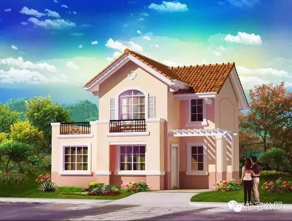 在于品味,而不在于大和豪,简简单单,配色优雅,经济适用就是别墅的基本