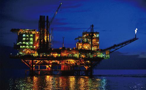 """饿自费天然气""""沟通""""中国,原油钻井继续缩减图片"""