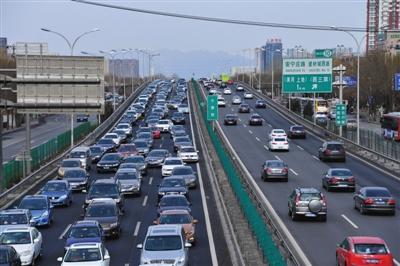 春节假期高速公路交通量日均134.55万,创历年