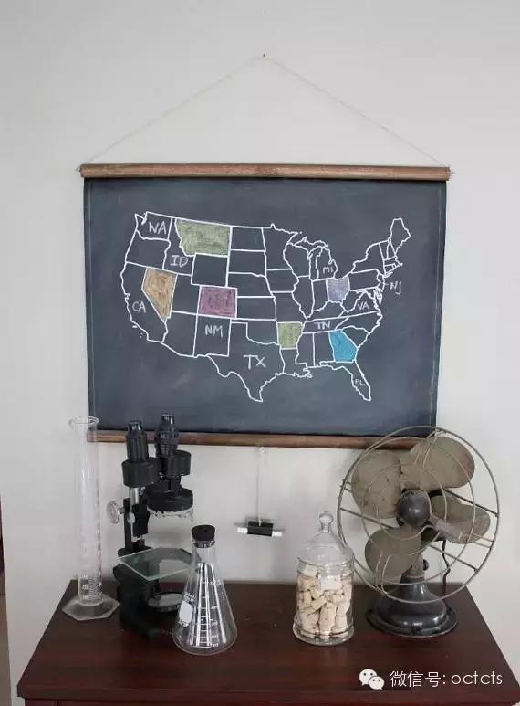 幅手绘世界地图吧
