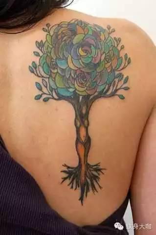 想要美丽,又想要个性?试试纹身吧