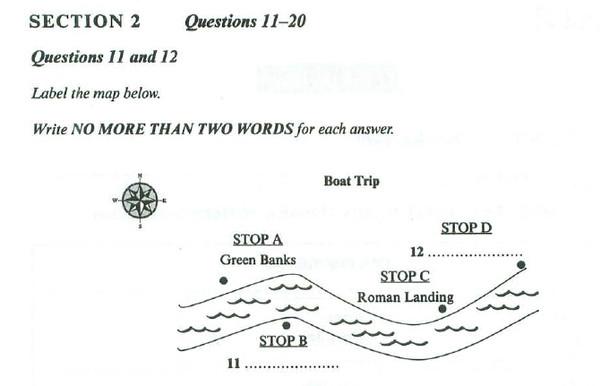 实例讲解雅思听力地图题要如何攻克图1