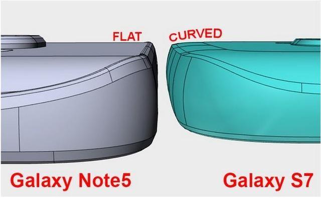 外观S3即视感? 三星S7或采用鹅卵石设计