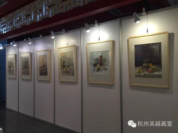 杭州吴越画室十六年回顾展览 国美报名考试期间