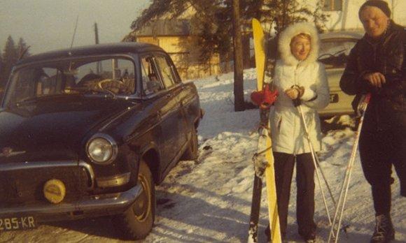 图米尼斯卡与保罗二世。图片来源:网络
