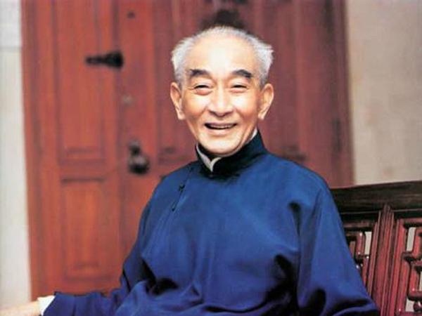 温州籍国学大师南怀瑾。