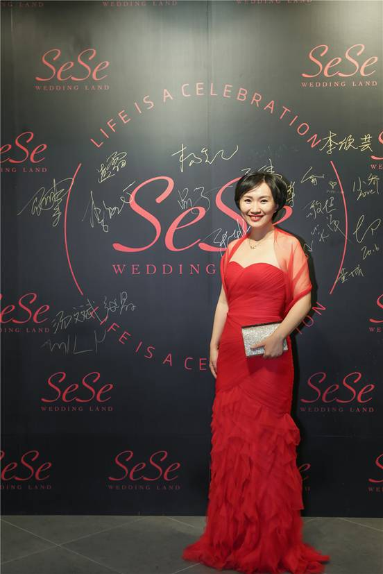 5522sese_杨铯打造服务大众的全品类sese婚礼王国集成店(组图)