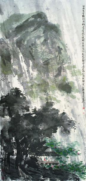 细雨浮花归别涧-2011年