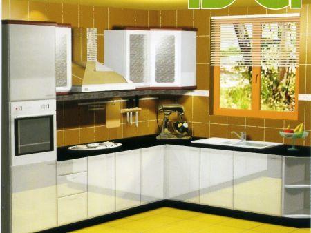 【上海金颐装饰】厨房装修巧借用空间扩空间