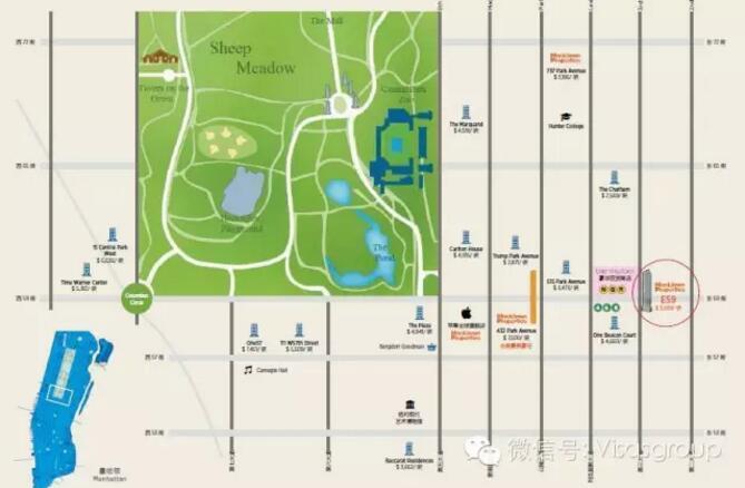 设计特色,延续了 macklowe 地产集团自全美第一豪宅 - 公园大道432 号图片