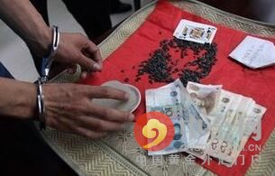 男子猜瓜子被骗看病钱 8人因涉嫌诈骗罪被刑事拘留(图